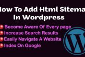 How To Add Html Sitemap In Wordpress