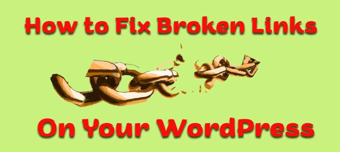 How to Fix Broken Links on Your WordPress in Hindi