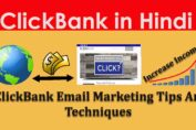 Clickbank Email Marketing Tips And Techniques