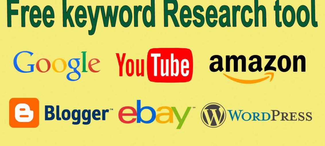 8 Best Free keyword research tool for youtube | blog | website | amazon 2020