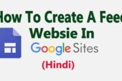 How To Create A Free Website In Google Site
