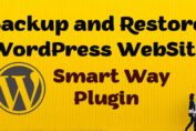 How to Create Backup and Restore WordPress Site In only 5 Minute