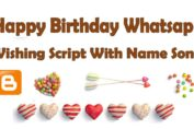 You can give your friend or loved one a happy birthday.That too in beautiful style by messaging whatsapp and If it contains a song with his