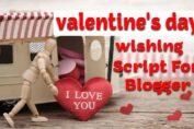 valentine's day wishing script for blogger free download