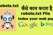 What Is Robots.Txt & How Does This Work For Website Rank In Search Engine