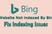 Website Not Indexed By Bing complete solution | Fix Indexing Issues